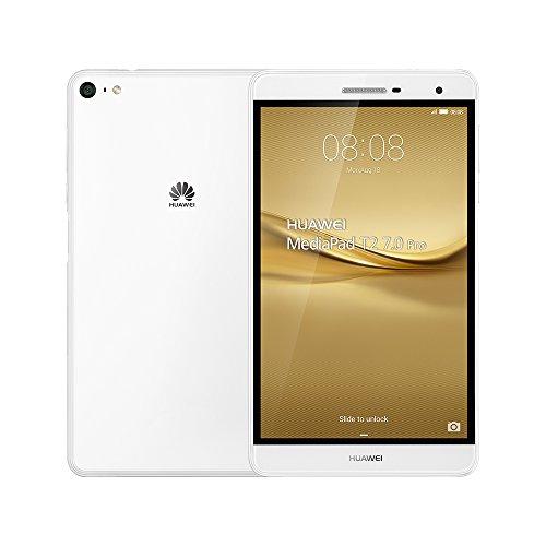 Huawei MediaPad T2 7.0 Pro 16GB 7-Inch 4G LTE Dual SIM Tablet Factory Unlocked - International Stock No Warranty (WHITE)