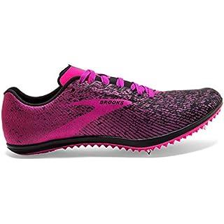 Brooks Women's Mach 19 Black/Hollyhock/Pink 11 B On Road Running Shoes