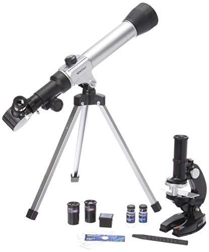 Vivitar VIV-TELMIC-20 20x/30x/40x Telescope and Microscope Kit (Black)