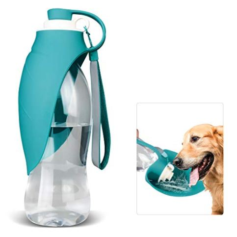 TIOVERY-Dog-Water-Bottle-for-Walking-Pet-Water-Dispenser-Feeder-Container-Portable-with-Drinking-Cup-Bowl-Outdoor-Hiking-Travel-for-Puppy-Cats-Hamsters-Rabbits-and-Other-Small-Animals-20-OZ