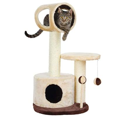 TRIXIE Cat Tree with Condo | Scratching Post | Cat Playground