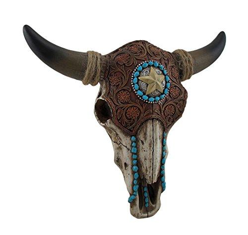 Bull Skull Wall Sculpture