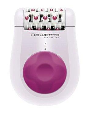 Rowenta EP1030 Fashion Epilatore Donna Elettrico, Compatto e Efficace con 24 Pinzette, Rosa/Bianco