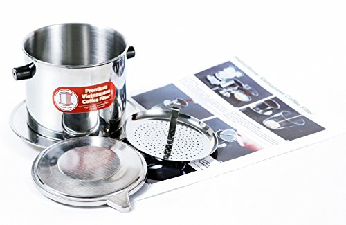 Vietnamese Dripper Coffee Machine Filter. Suitable for Trung Nguyen Coffee- Gravity Insert