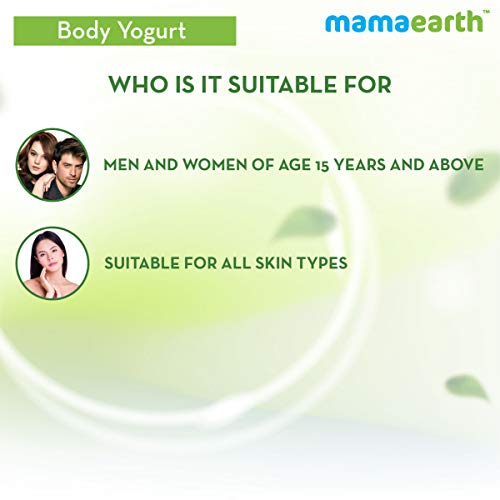 41M9anUftKL - Mamaearth CoCo Yogurt, lotion for woman, with Coffee and Cocoa for Rich Moisturization - 200 ml