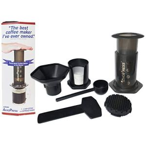 Aerobie AeroPress A80 Coffee Maker – Black 41MAOeJLoCL