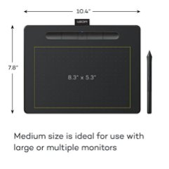 Wacom-CTL6100WLK0-Intuos-Wireless-Graphics-Drawing-Tablet-with-Software-Included-104-X-78-Black