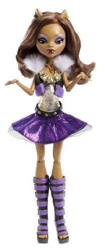 Game / Play Monster High It's Alive Clawdeen Wolf Doll, monster, high, alive, dolls, clawdeen, wolf Toy / Child / Kid