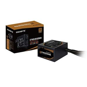 Gigabyte P650B 80 Plus Bronze 650W, Quiet HYB Fan, Active Power Protection, Power Supply GP-P650B