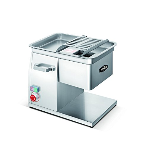 KWS-SL-48-4mm-Commercial-1320W-18HP-Electric-Stainless-Steel-Fresh-Meat-Cutter-for-RestaurantDeliButcher-Shop
