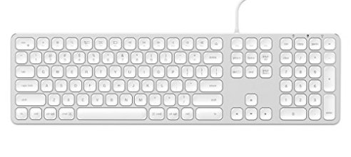 a1c05f441c0 Satechi Aluminum USB Wired Keyboard with Numeric Keypad - Compatible with  iMac Pro, iMac,