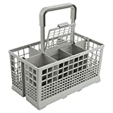 Universal Dishwasher Cutlery Basket (9.45' x 5.5'x 4.7') fits Kenmore, Whirlpool, Bosch, Maytag, KitchenAid, Maytag, Samsung, GE, and more