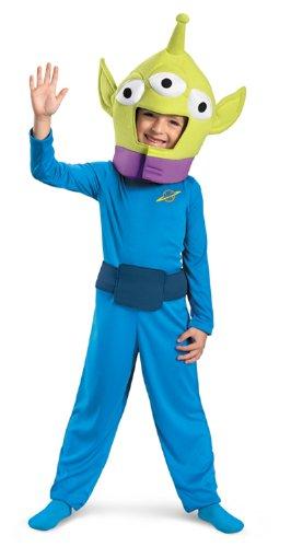Alien Classic Child Costume Size: 3T-4T