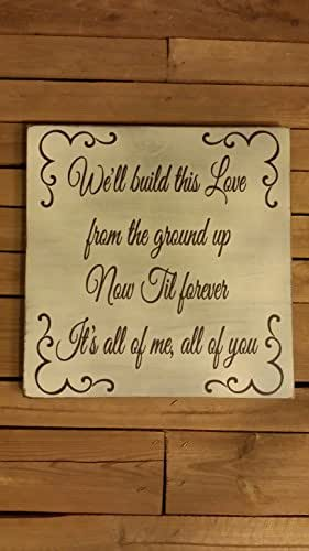 """Download Amazon.com: 12x12"""" We'll Build this Love from the Ground ..."""