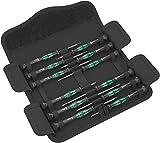 Wera - Kraftform Micro Screwdriver Set 12: 5 Slot 2 Ph 3 Hex 2 TX