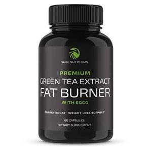 Nobi Nutrition Green Tea Fat Burner - Green Tea Extract Supplement with EGCG - Diet Pills, Appetite Suppressant… 31