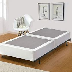 Spinal Solution 8-Inch Split Wood Traditional Box Spring/Foundation For Mattress, Twin, Beige