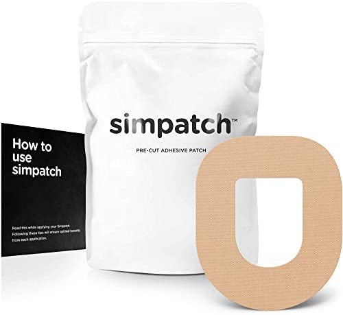 SIMPATCH – OmniPod Adhesive Patch (25-Pack) – Waterproof Adhesive, CGM Tape – Multiple Color Options 1