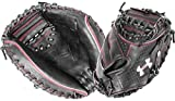 Under Armour Baseball UACM-PRO1 Professional Series Baseball Catching Mitt, Black, Adult 34'