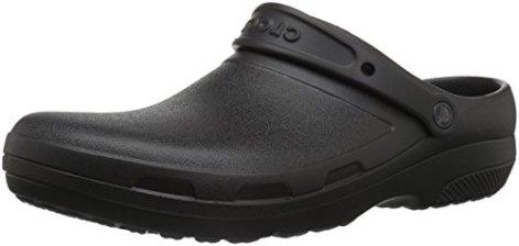 Crocs Specialist II Clog, Black, 8 US Men/10 US Women M US