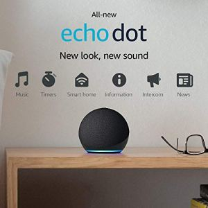 All-new Echo Dot (4th Gen, 2020 release) | Smart speaker with Alexa | Charcoal 1