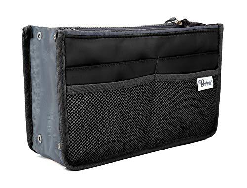 Periea Handbag Organizer - Chelsy (Medium, Black)
