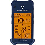 Voice Caddie SC 200 Portable Golf Launch Monitor with Audible Output, Blue (Renewed)