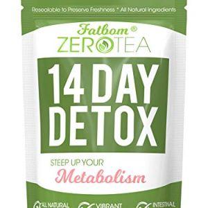 Zero Tea 14 Day Detox Tea, Teatox Herbal Tea for Cleanse 49