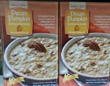 Trader Joe's Pecan Pumpkin Instant Oatmeal (Naturally Flavored) - 2 Boxes for aTotal of 16 Packets