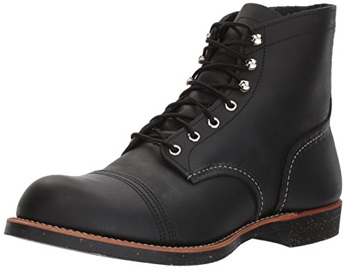 Red Wing Heritage Iron Ranger 6-Inch Boot, Black Harness, 8 D(M) US