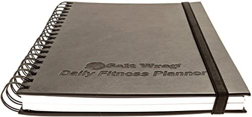 SaltWrap The Daily Fitness Planner - Gym Workout Log and Food Journal - with Daily and Weekly Pages, Goal Tracking Templates, Spiral-Bound, 7 x 10 inches 3
