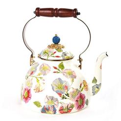 MacKenzie Childs Morning Glory Tea Kettle 3qt