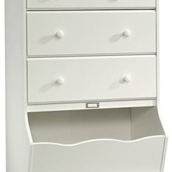 Sauder Pogo 3-Drawer Chest, Soft White finish