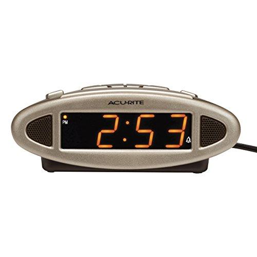 AcuRite 13027A Intelli-Time Digital Alarm Clock