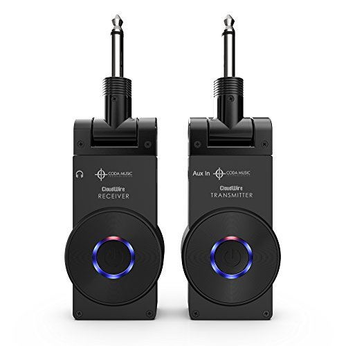 CloudWire - 2.4GHz Rechargeable Digital Wireless System for Guitar, Bass, and other Instruments