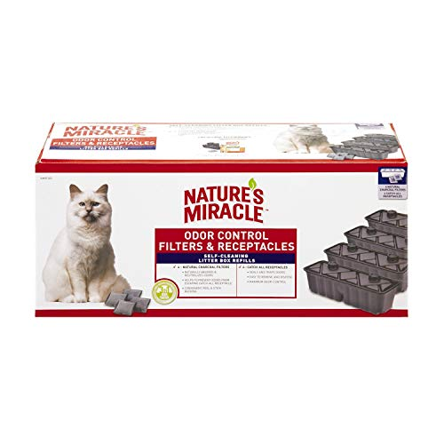 Nature's Miracle P-98232 Waste Receptacles Litter Box Waste Receptacles 1