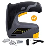 Werktough CSG01 Cordless Staple Gun DIY Electric Stapler with Carrying Box Rechargeable USB Charger