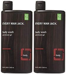 Every Man Jack Body Wash 16.9oz Cedarwood (2 Pack)  Image 2