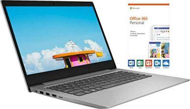 Lenovo-Ideapad-1-14-HD-Energy-efficient-Widescreen-LED-Backlight-Laptop-AMD-A6-9220e-Upto-24GHz-AMD-Radeon-R4-4GB-RAM-64GB-eMMC-SSD-Bluetooth-HDMI-Windows-10-1-Year-Office-365-Personal