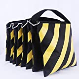 ABCCANOPY Heavy Duty Photographic Sandbag for for Photo Video Studio Stand,Backyard,Outdoor Patio,Sports(Yellow - 4 Pack)
