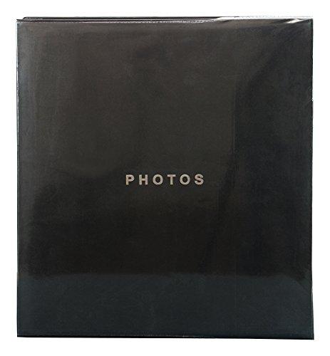 Kiera Grace Photo Album, Holds 400 4 by 6-Inch Photos, Black