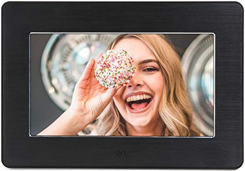 Micca Digital Photo Frame High Resolution LCD, MP3 Music 1080P HD Video Playback, Auto On/Off Timer