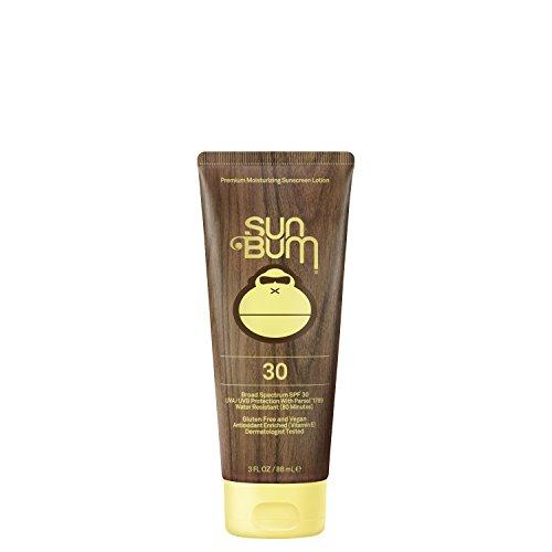 Sun Bum Original Moisturizing Sunscreen Lotion, SPF 30, 3 oz. Tube, 1 Count, , Broad Spectrum UVA/UVB Protection, Hypoallergenic, Paraben Free, Gluten Free