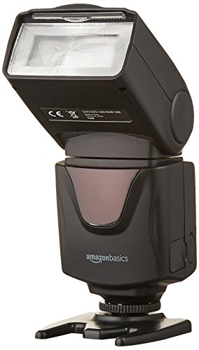 AmazonBasics Electronic Flash for DSLR Cameras