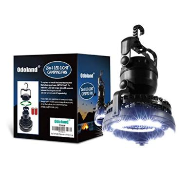 Odoland-Portable-LED-Camping-Lantern-with-Ceiling-Fan-Hurricane-Emergency-Survival-Kit