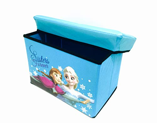 Elsa Anna & Olaf Foldable Storage Box & Stool