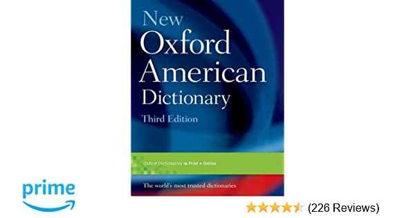 New Oxford American Dictionary Third Edition Front Cover Jpg – Home