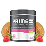 Complete Nutrition Prime Drive Energy & Weight Loss Powder, Strawberry Melon, Increase Energy, Boost Metabolism, Fat Burner, Appetite Suppressant, 9.5oz (30 Servings)