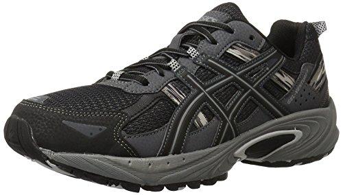 ASICS Men's Gel-Venture 5-M, Black/Onyx/Charcoal, 10.5 M US