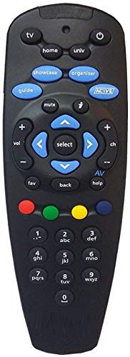 CellwallPRO Universal Set Top Box Remote Compatible Without Recording Feature for Tata Sky SD/HD/HD+/4K DTH Set Top Box (Pairing Required to Sync TV Functions) 135